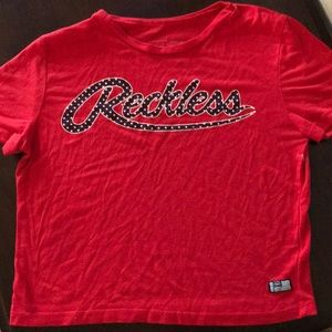 Young and Reckless Crop Top
